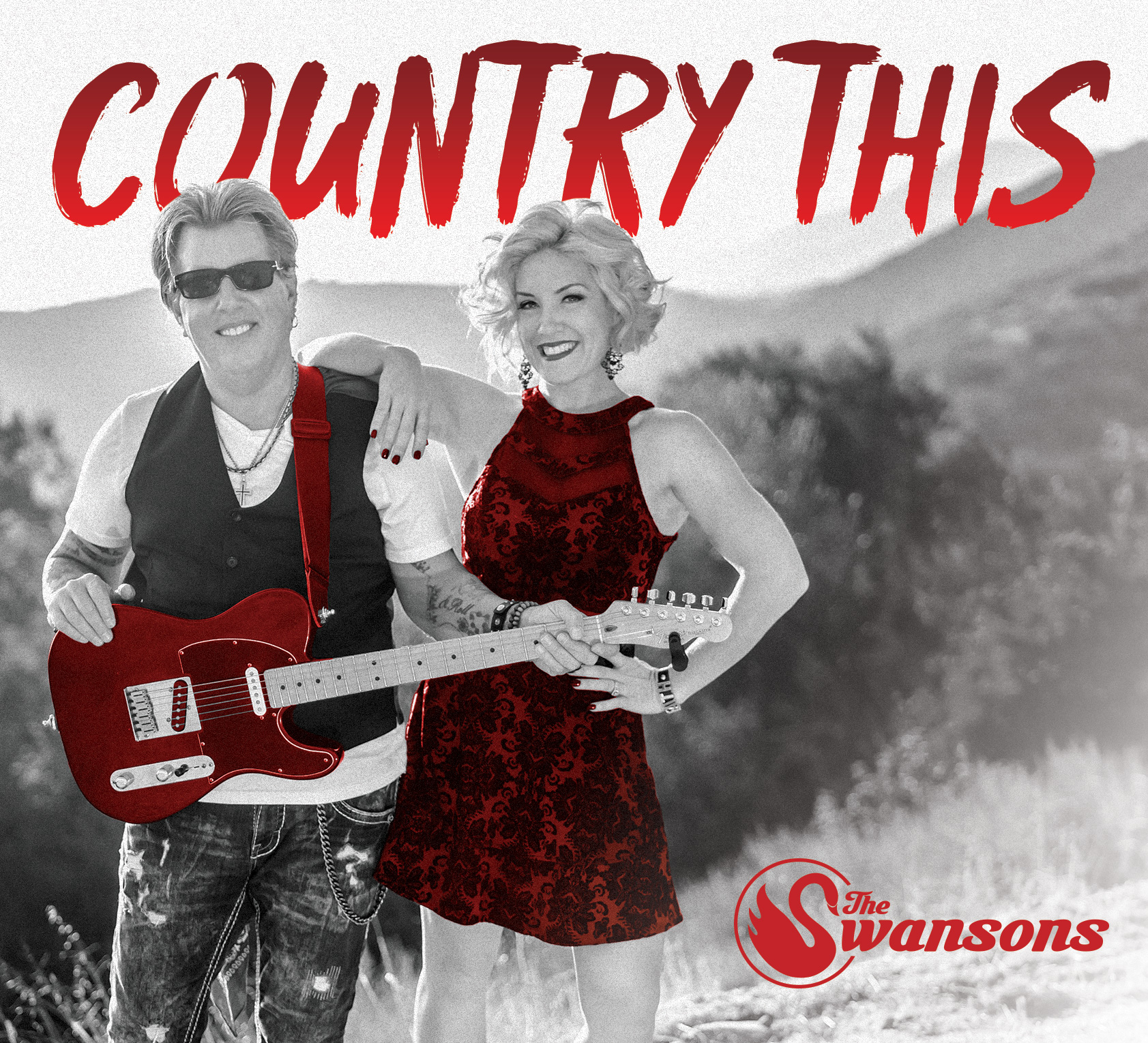 'Country This' By The Swansons ALBUM COVER