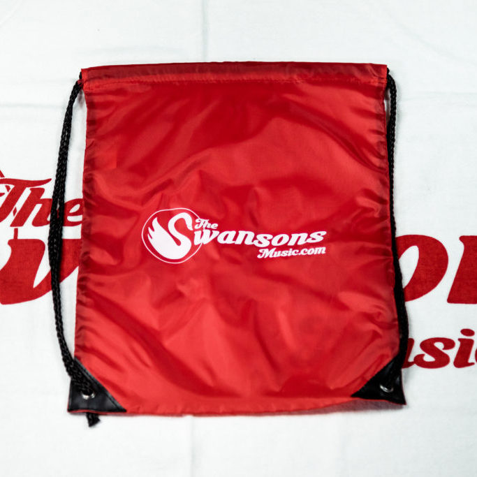 Swansons drawstring sport backpack